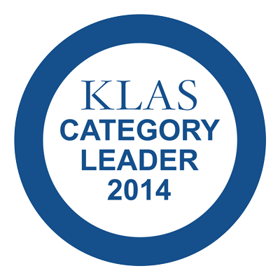 KLAS Category Leader 2014