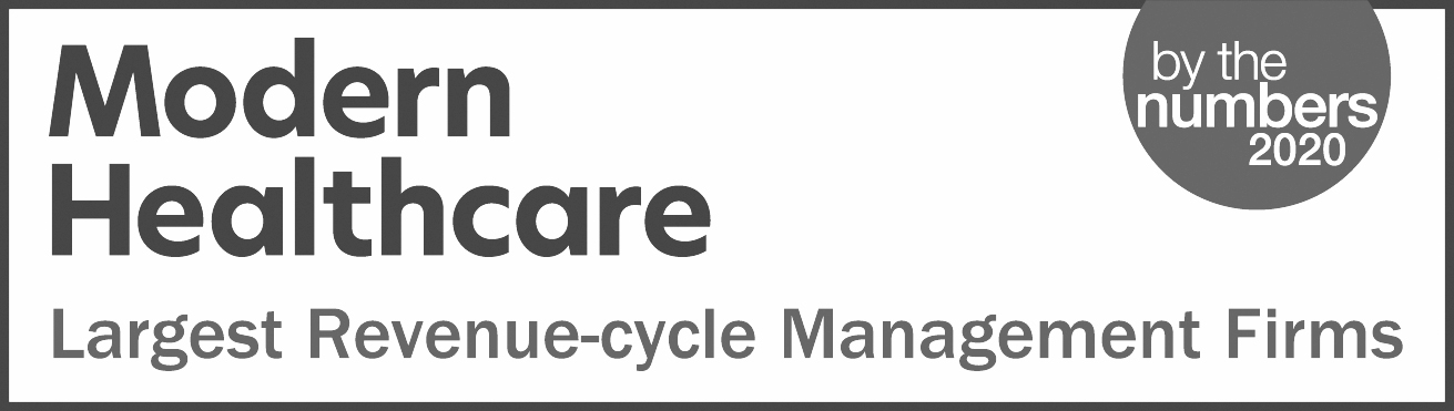 Modern Healthcare 2019 Largest Revenue Cycle Firm Award