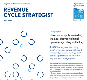 HFMA Revenue Cycle Strategist Revenue Integrity